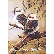 Kookaburra's on a Branch
