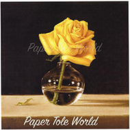 Yellow Rose in Vase